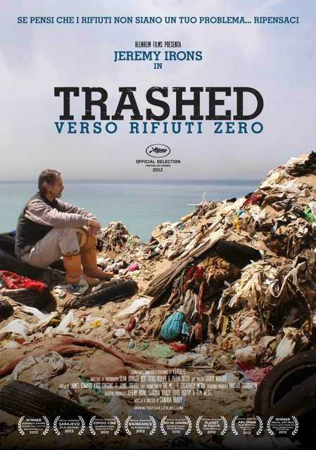 Trashed poster italiano